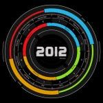 2012 calendar — Stock Photo #7485228