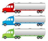 Vehicle pack - tank, cistern car — Stock Vector