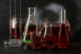 Chemistry flask — Stock Photo