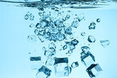 Ice and water — Stock Photo