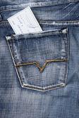 Kontrola v kapse — Stock fotografie