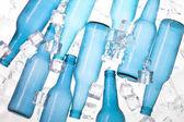 Botella azul — Foto de Stock