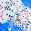 Playing cards — Stock Photo #7160496