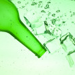 Green bottle — Stock Photo