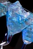 Blau cocktail — Stockfoto