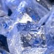 Background with blue ice. — Stock Photo #7170554