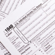 1040 tax form — Stock Photo #7177347