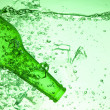 Green bottle — Stock Photo #7189235