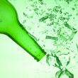 Green bottle — Stock Photo #7189269