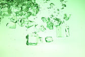 Background with ice — Stock Photo