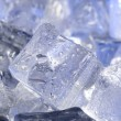 Background with blue ice — Stock Photo