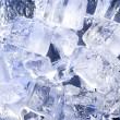 Stock Photo: Background with blue ice