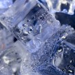 Background with blue ice — Stock Photo #7190604