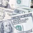 Background with dollar — Foto de Stock