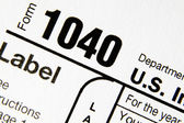 1040 tax form — Stock Photo