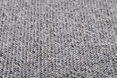 Grey rough fabric — Stock Photo