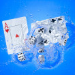 Playing cards — Stock Photo #7268726
