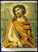 Icon Old orthodox icon Russian orthodox icon — Stock Photo