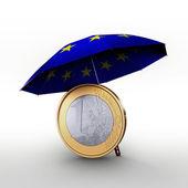 Rettungsschirm EURO EFSF ESM — Stock Photo