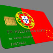 Portugal EURO Kredit Karte - Stock Photo