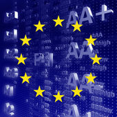 EURO Rating AAA — Stock Photo