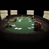 Poker Final Table Finaltable — Stock Photo