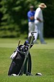Bolsa de golf — Foto de Stock