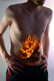Heartburn — Stock Photo