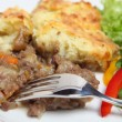 Shepherds pie dinner — Stock Photo