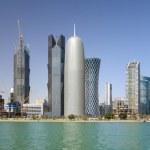 Постер, плакат: Towers in Doha Qatar