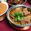 Beef korma curry in bowl — Stock Photo