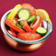 Indian style salad — Stock Photo