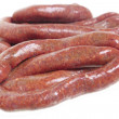 Stock Photo: Beef sausages