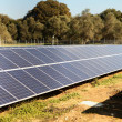 Solar panel array - Stock Photo