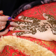 Henna art — Stock Photo