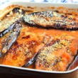 Stock Photo: Aubergine parmigiana