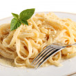 Fettuccine all Alfredo — Stock Photo