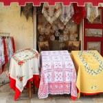 Burano textile shop — Stock Photo #7034885