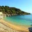 Nissaki beach, Corfu, vertical — Stock Photo