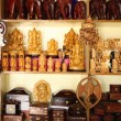Indian handicraft display - Stock Photo