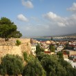 Rethymnon city and castle wall — Stock Photo #7035687