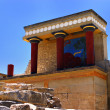Stock Photo: Knossos North Entrance