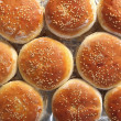 Burger buns from above — Stock Photo #7037901