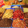 Curry spices at Varkala — Stock Photo