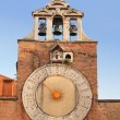 Historic clock at the Rialto - Stock Photo