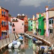 Burano colours - 图库照片