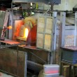 Stock Photo: Glass furnace