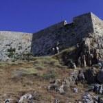 Rethymno Fortezza walls panorama — Stock Photo