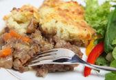 Shepherds pie dinner — Stock Photo