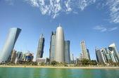 Doha towers — Stock Photo